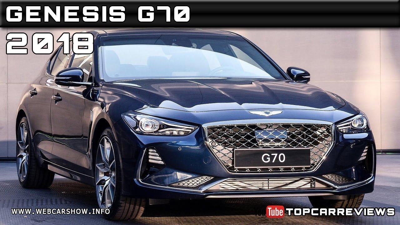 2018 GENESIS G70 Review Rendered Price Specs Release Date ...