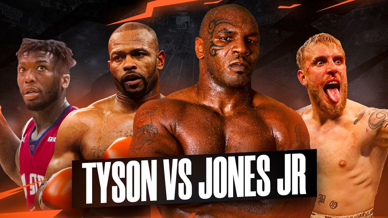 it s official mike tyson vs roy jones jr jake paul vs nate robinson predictions youtube it s official mike tyson vs roy jones jr jake paul vs nate robinson predictions