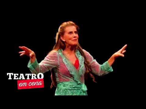 """Maitê Proença estreia """"A Mulher de Bath"""" no Teatro XP Investimentos (2018)"""