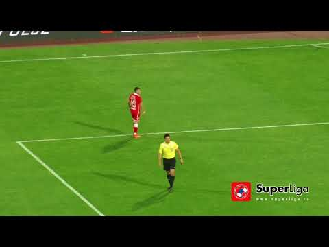 Super liga 2017/18: 37.kolo: CRVENA ZVEZDA – VOŽDOVAC 5:1 (2:0)