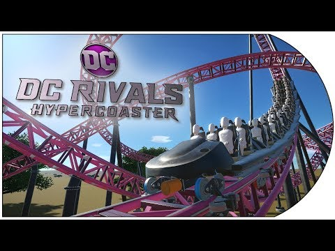 Planet Coaster Recreations 18: DC Rivals Movie World - Australia
