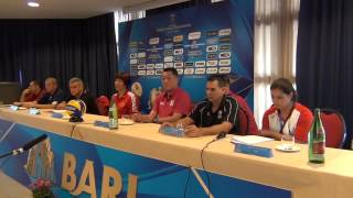 22-09-2014: fivbwomenswch Press Conference - BARI - Manabe Masayoshi (Japan)
