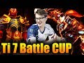 How To Win BATTLE CUP With 7K Team - Miracle- Dota 2