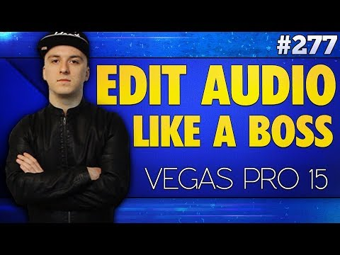 how to cut audio in vegas pro