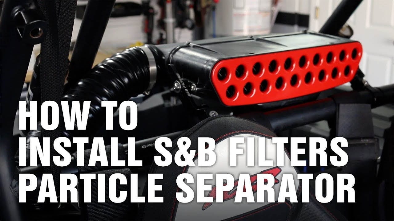 S And B Filters >> S B Filters Particle Separator For Polaris Rzr Xp 1000