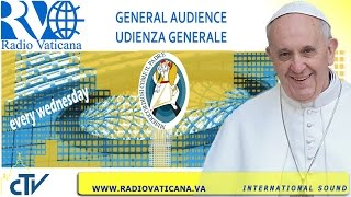 Pope Francis General Audience 2016.05.25