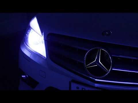 Mercedes CL-Klasse C215 17 LED white red blue # Interior Lights Package Set