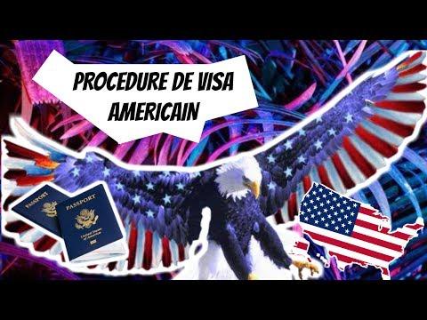 VISA POUR L'AMERIQUE | Vlog explicatif