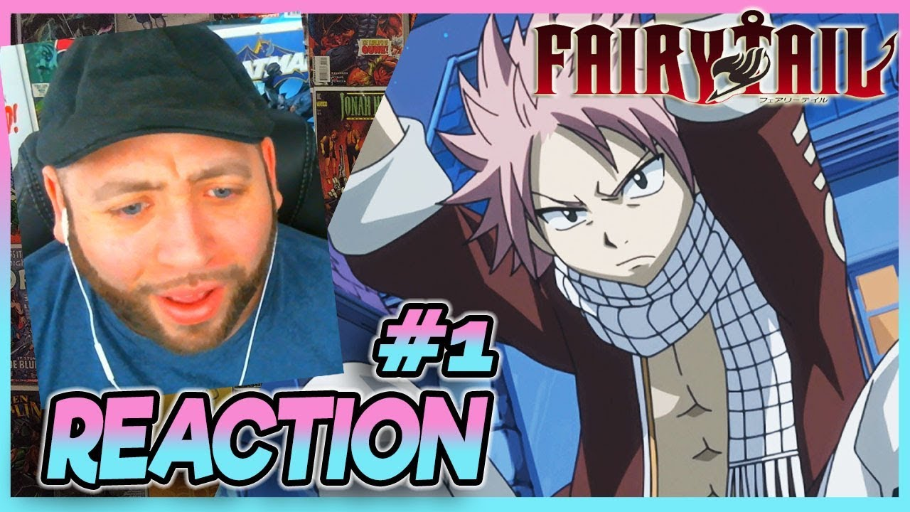 FAIRY TAIL Episode 1 REACTION