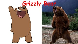 We Bare Bears in Real Life