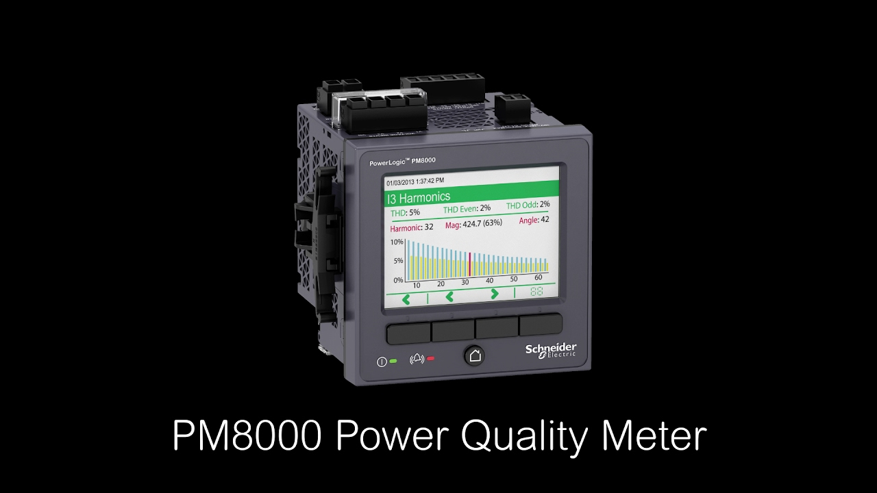 PM8000 Power Quality    Meter     It All Starts with a    Meter