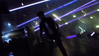 Queen - Adam Lambert is joking around with us during the concert Hallenstadion 19. Feb 2015 Zürich