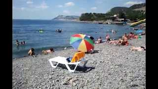 Анапа 2013 пляж Б. Утриш с коментариями(Пляж в Анапе, Утриш с коментариями., 2013-07-22T18:10:54.000Z)