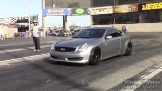 Infiniti G35 vs Honda Civic SI
