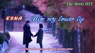 ESNA - Bite my lower lip (Heirs OST) HD sub español