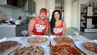 "6 ПИЦЦ ЗА РАЗ. CheatMeal Challenge 2. 6 Pizzas. Пицца ""ДоДо"""