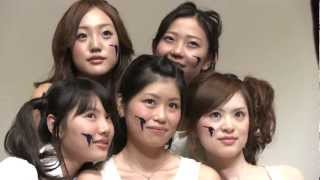町田ご当地アイドル「ミラクルマーチ」が2012年10月21日「ゆりーとフェ...