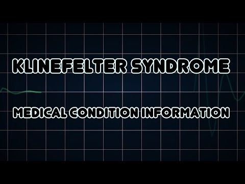 Синдром Клайнфельтера - причины, симптомы, диагностика и