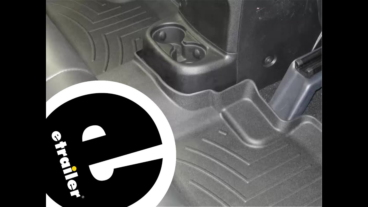 Floor mats jeep liberty 2012 - Review Of The Weathertech Rear Floor Liner On A 2012 Jeep Wrangler Unlimited Etrailer Com