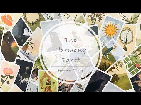 開箱  和諧塔羅牌 • The Harmony Tarot // Nanna Tarot