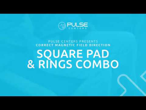 Pulse Centers: Magnetic Field Direction - Square Pad & Rings