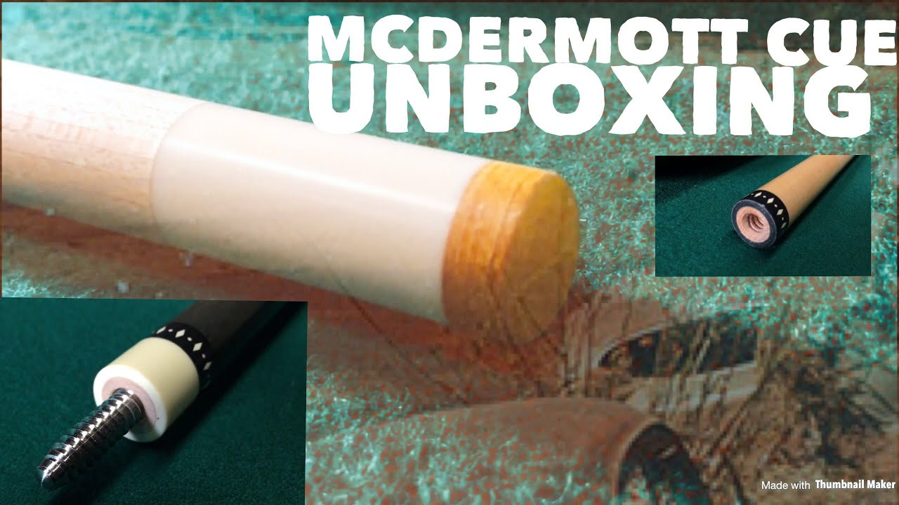 UNBOXING my L8 lucky cue by McDermott + TRICKSHOTS