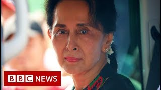 Aung San Suu Kyi: How a peace icon ended up at a genocide trial - BBC News