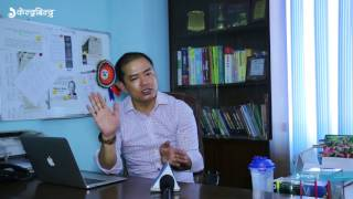 3rd Nepal Higher Education Fair 2017 -  Interview with Jeevan Lama Gole