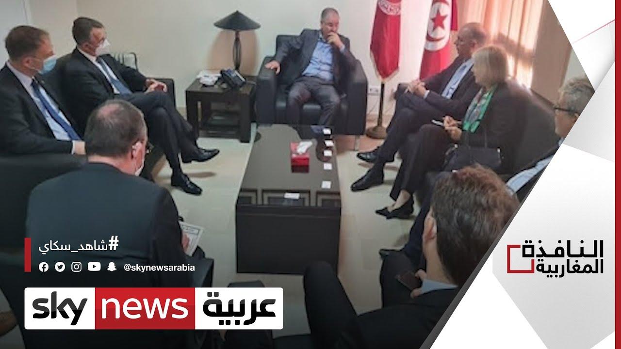 دعم ألماني للتجربة الديمقراطية في تونس | #النافذة_المغاربية  - نشر قبل 8 ساعة
