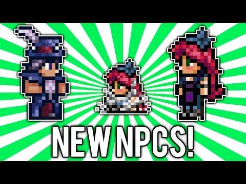 Terraria 1.2.3: Traveling Merchant & Stylist NPCs! (NEW, Change Hair Color!) [demize]