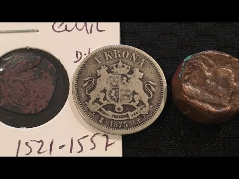 Coins From The 1500's! & Old Silver!
