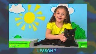 Английский Для Детей. УРОК 7. Повторяем слова и словосочитания из 5-6 Уроков и учим новые.