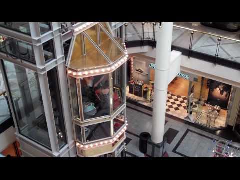 Cambridge: Montgomery Mall Glass Traction Elevator @ Cambridge-Side Galleria