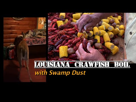 Louisiana Crawfish Boil In Oklahoma