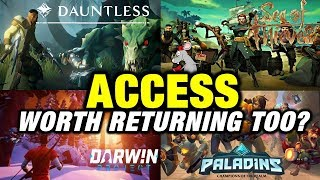 Paladins Copying Fortnite? Sea Of Thieves, Astroneer, Deep Rock Galactic, Darwin Project Updated