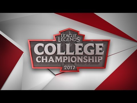 2017 League of Legends College Championship Quarterfinals - A&M vs CMU, UMD vs RMU