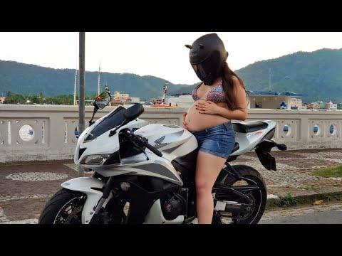 Grávida pode andar de moto ? - YouTube