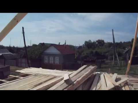 Как измерить угол наклона крыши