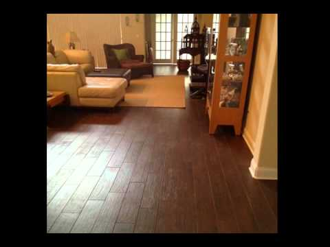 Find A Contractor >> Porcelain Plank Wood Look Tile Installations in Tampa Florida - YouTube