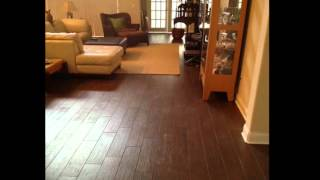 Porcelain Plank Wood Look Tile Installations In Tampa Florida