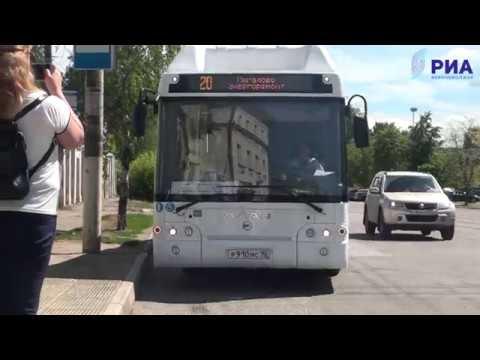 Тестирование новых тверских автобусов