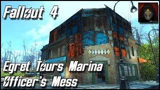 Fallout 4 - Egret Tours Marina Settlement - River Patrol Station: Officer's Mess