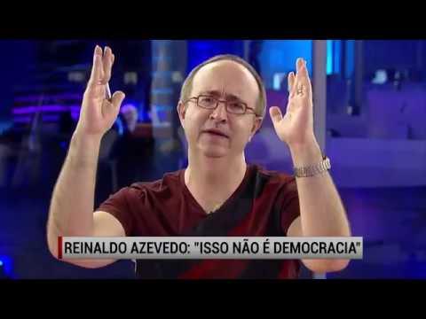 Reinaldo Azevedo Sai da Veja e da Jovem Pan e Estreia Programa Diário na Rede TV -  Pingos nos Is