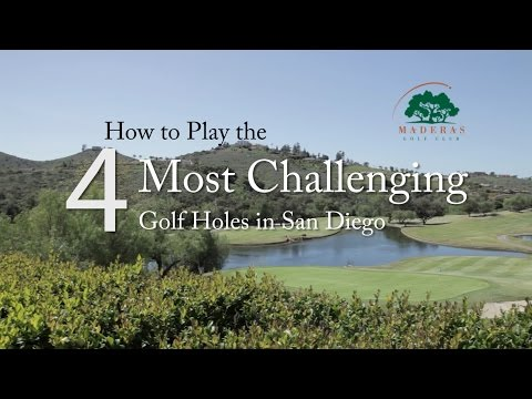 How To Play The 4 Toughest Golf Holes In San Diego