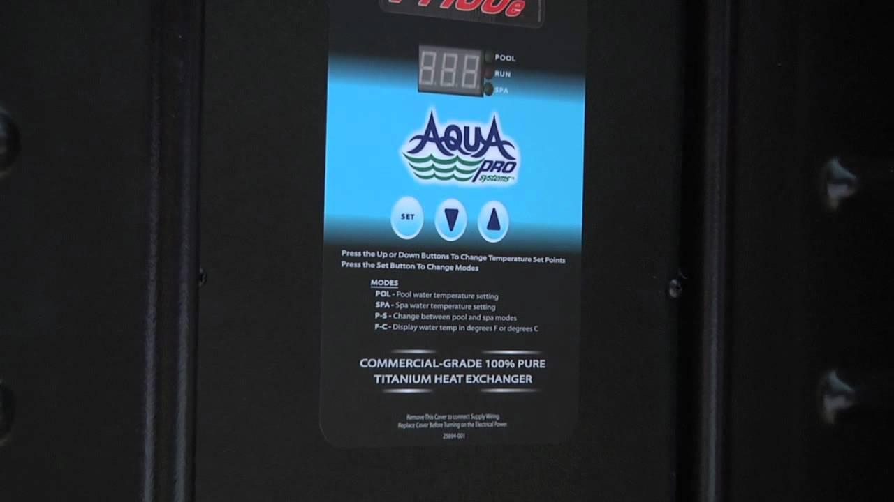 Aqua Pro Pool Heat Pump Wiring Diagram - Schematic Diagrams
