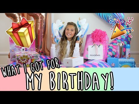 WHAT I GOT FOR MY BIRTHDAY (huge surprise party!)