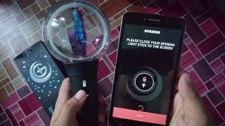 [Unboxing]여자친구 Gfriend Official Lightstick Ver 2 Bamhenoul Bong (Bluetooth Mode) + Photo Set