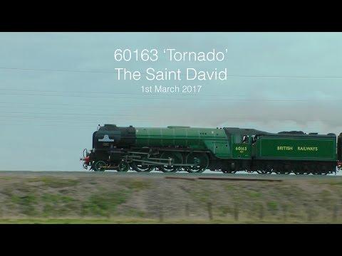 60163 races through Oxfordshire - The Saint David 01-03-17