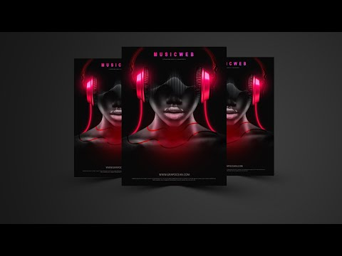 How To Create A Dark Effect Flyer In Photoshop