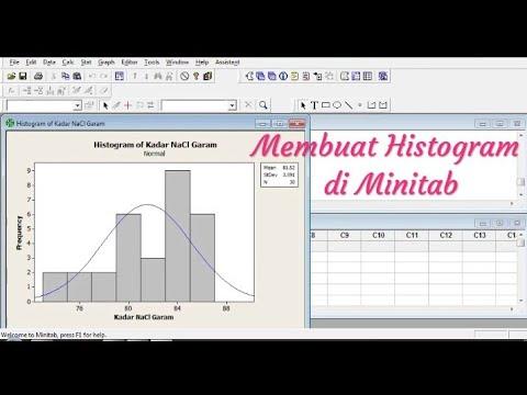 How To Create p Chart by Using Minitab.